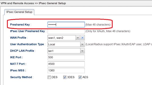 L2tp Over Ipsec From Windows 10 To Vigor Router Draytek