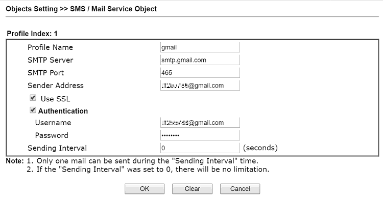 a screenshot of DrayOS mail service object