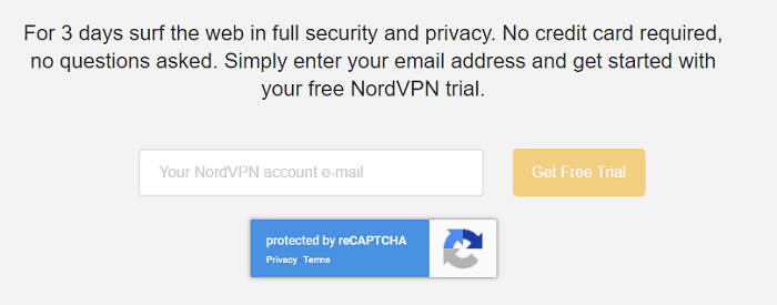 a screenshot of NordVPN