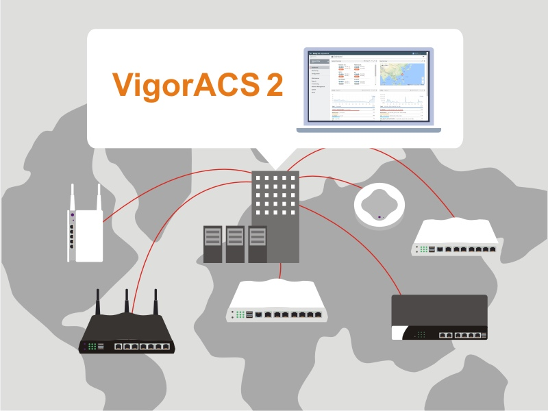VigorACS 2, the New Centralized Management System Ready for Announcement