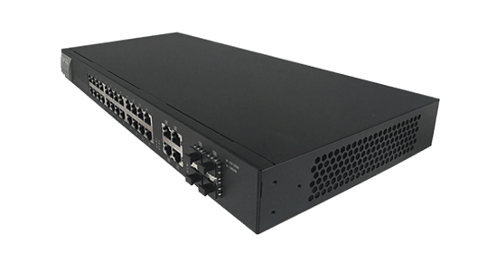 right view of DrayTek VigorSwitch G1280