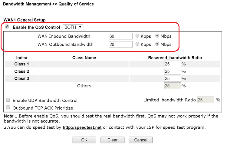 How to prioritize VoIP traffic by Quality of Service (QoS