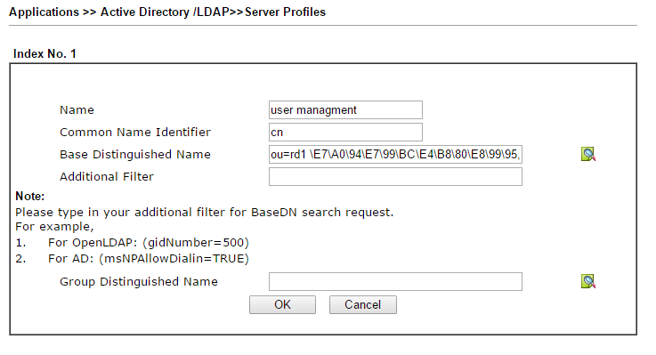 How to authenticate users with an AD/LDAP server?