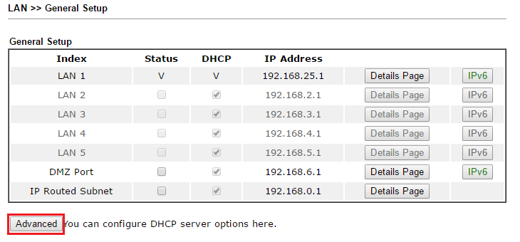 How to configure DHCP options for DHCP clients? - DrayTek Corp