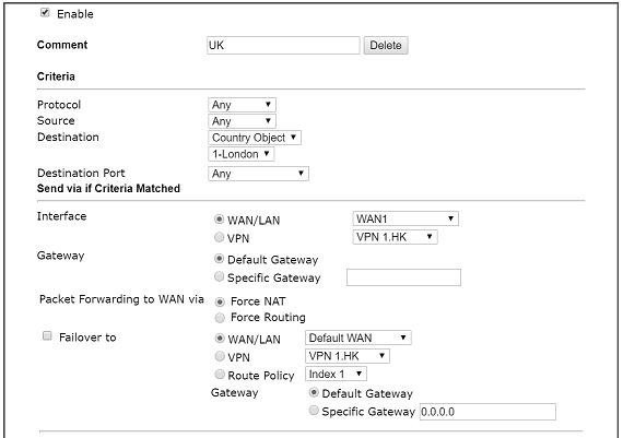 Proxy web opnsense