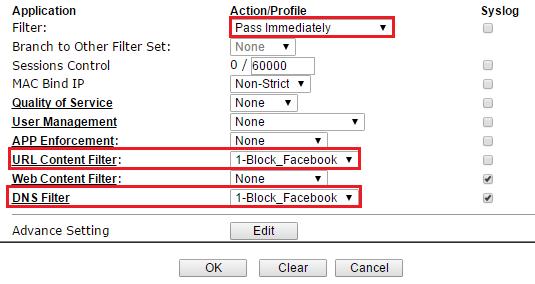 blockieren und filtern windows app