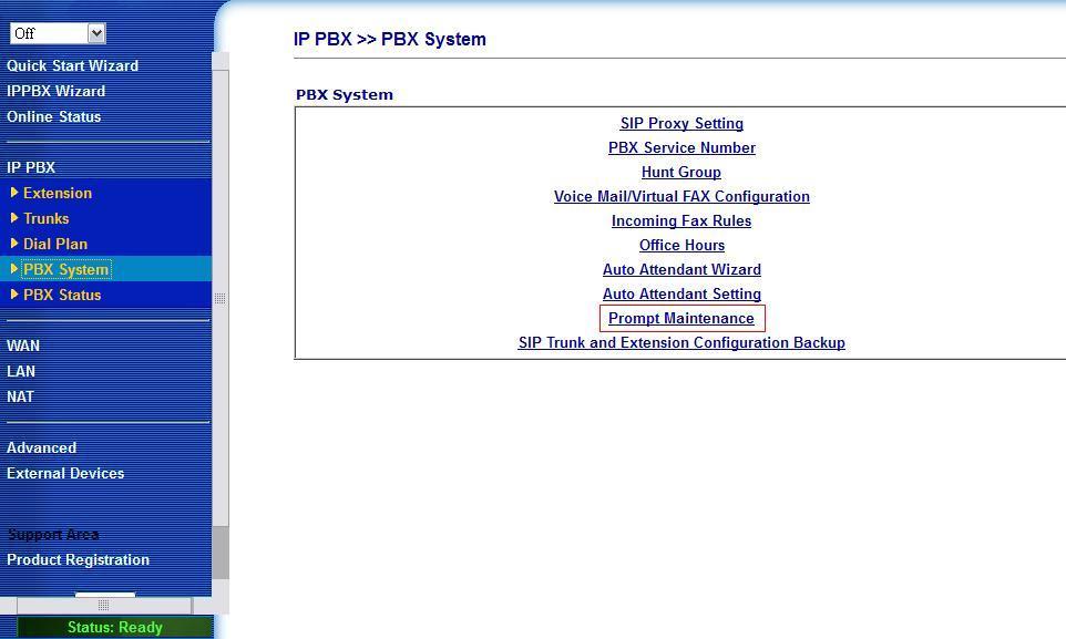 1.PBX System