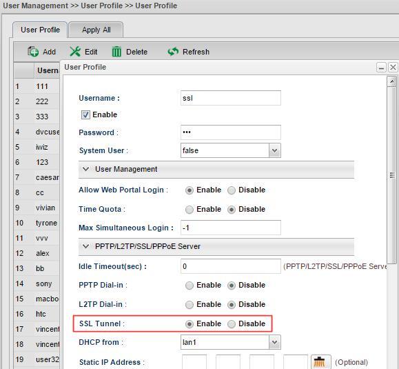 Windows Smart VPN Client to Vigor3900 - SSL VPN - DrayTek Corp